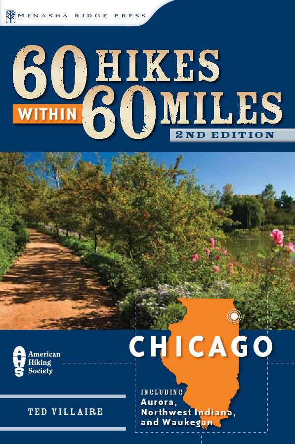60 Hikes Chicago cover