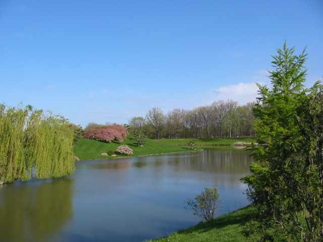 Chicago Botanic Garden lagoon