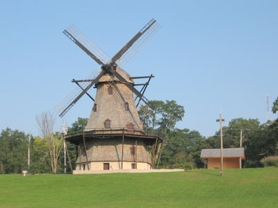 The Dutch windmill at Fabyan Forest Preserve.