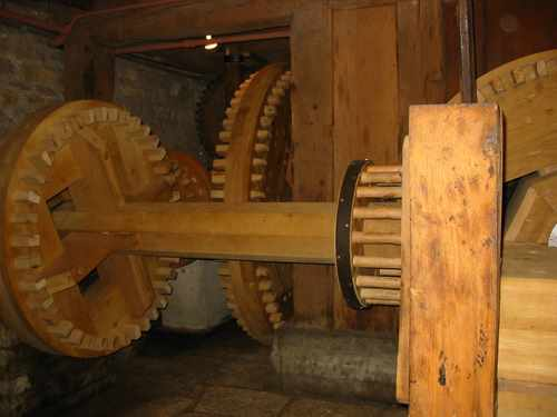 Graue Mill gears, Fullersburg Forest Preserve