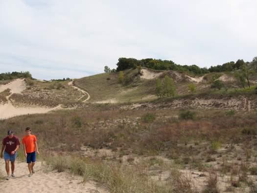 Warren Dunes State Park walking