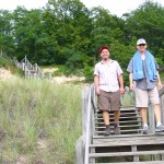 My brother Lou and our friend Mark Nickels came along on this hike.