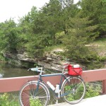 At the beginning of the ride, look for the rocky outcroppings along Franklin Creek.