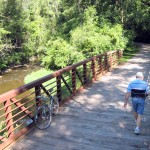 The first and last segments of the ride follow the beautiful Willow Creek Trail through Creek Rock Cut State Park.