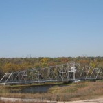 The Centennial Trail follows this bridge in Romeoville