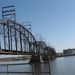 One of the many impressive bridges in the area. This one runs between Davenport and Rock Island.